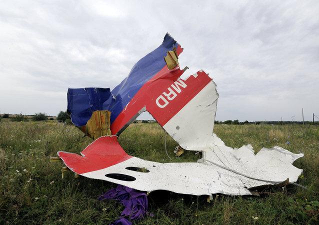 Lugar del siniestro del MH17 en el este de Ucrania (archivo)