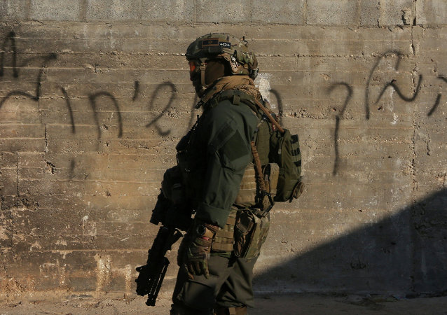 Militar israelí en Cisjordania (archivo)
