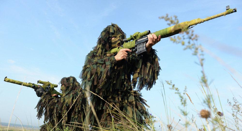 Francotiradores del Ejército ruso