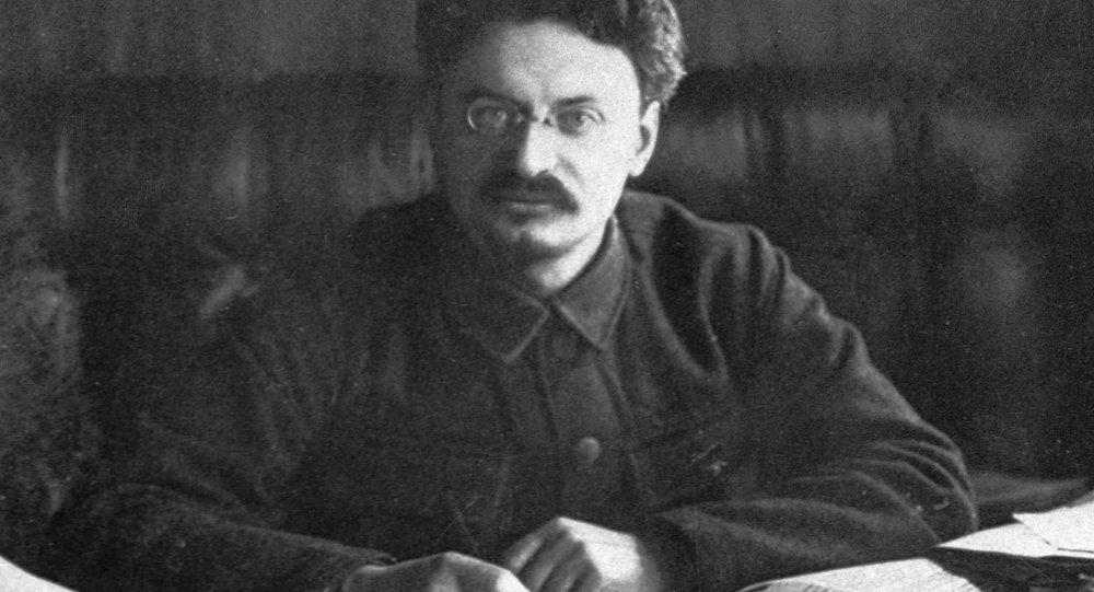 León Trotsky, uno de los líderes de la Revolución de Octubre de 1917 y fundador del Ejército Rojo