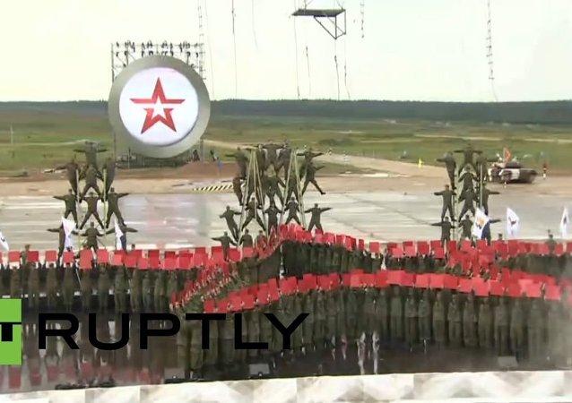 Inauguración de Olimpiada Militar 2015