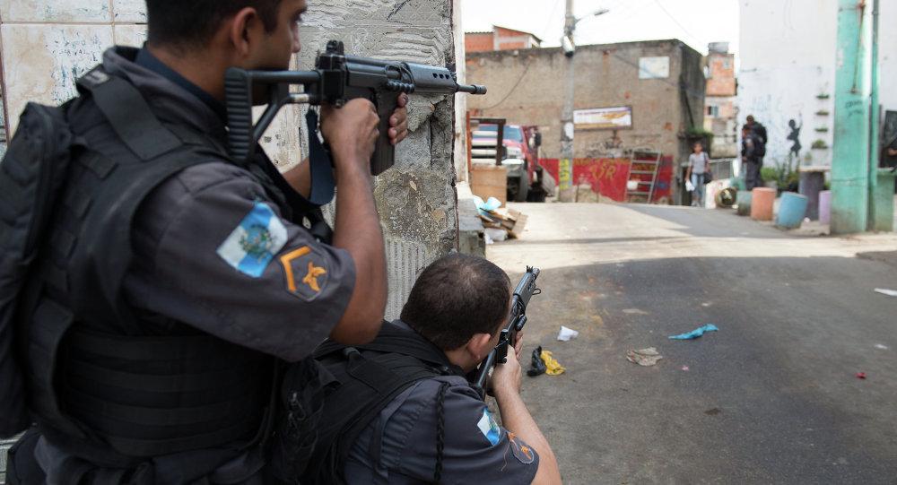 Policía Militar de Brasil (archivo)