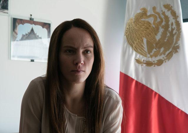 Gabriela Cuevas Barron, presidenta de la Unión Interparlamentaria (archivo)