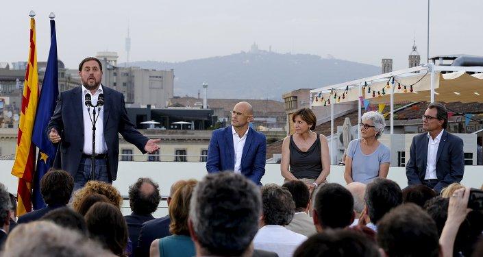 Oriol Junqueras, líder de Esquerra Republicana de Catalunya