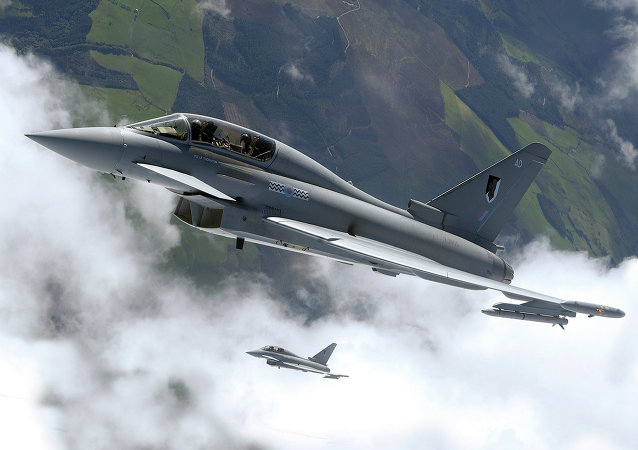 Caza Eurofighter Typhoon