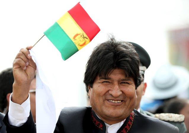 Evo Morales, el presidente de Bolivia
