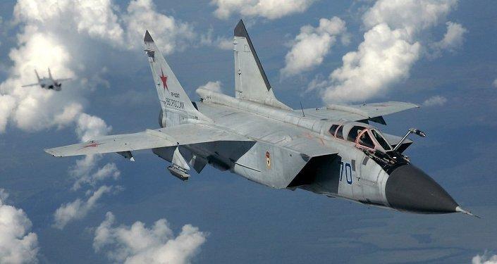 Caza interceptor MiG-31