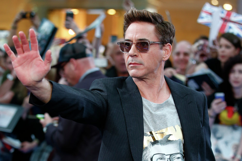 El actor Robert Downey Jr