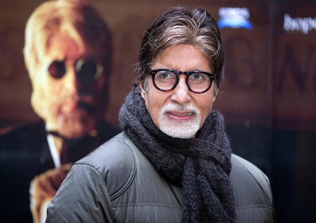 El actor indio Amitabh Bachchan