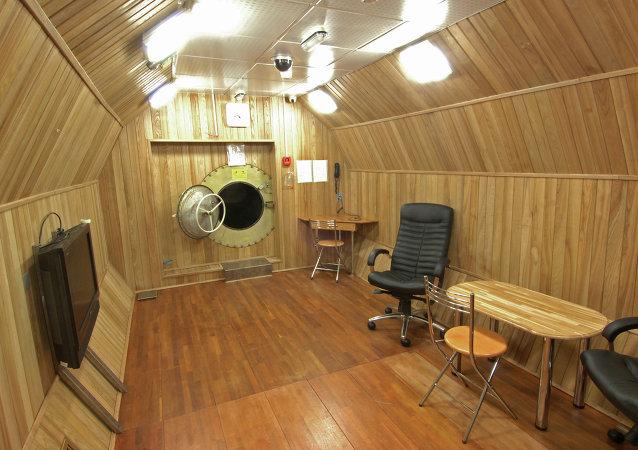 Cámara de simulación de vuelos MARS 500
