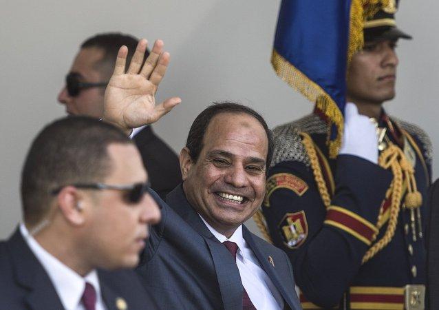 Abdel Fattah al-Sisi, presidente egipcio