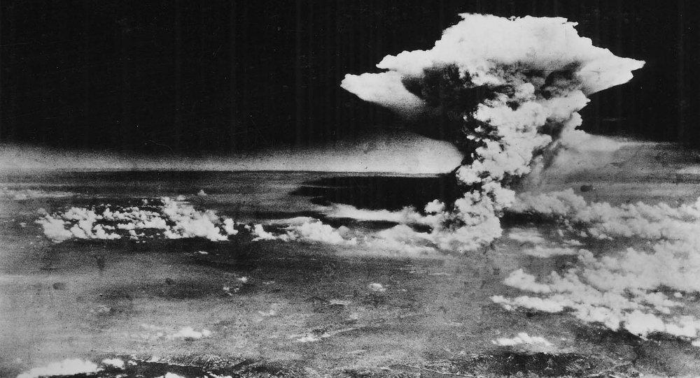 Nube de hongo sobre Hiroshima (Archivo)