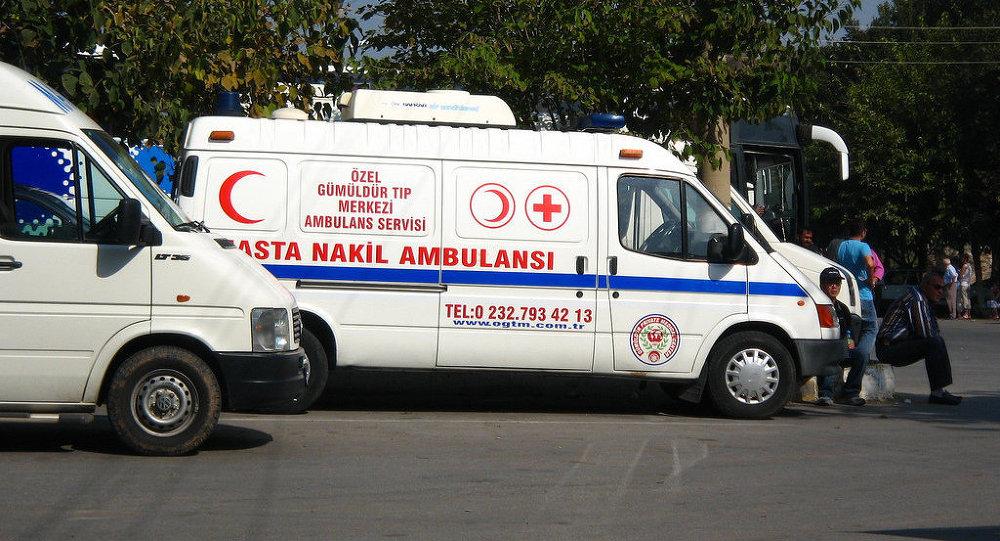 Ambulancia, Turquía