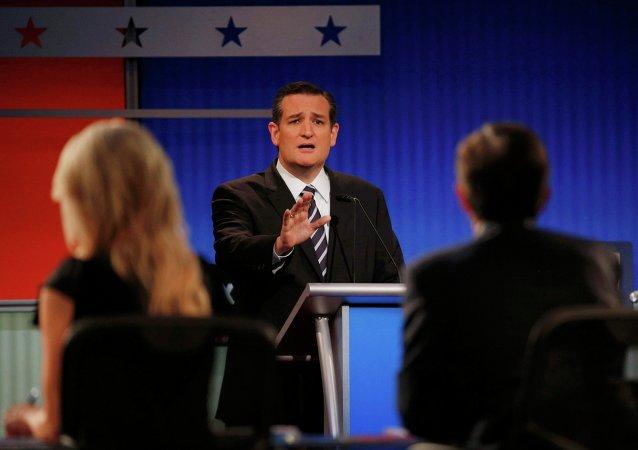 Ted Cruz, candidato repúblicano