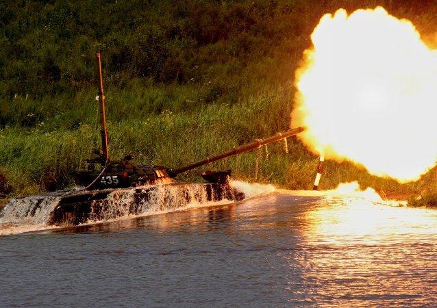 Vehículos blindados aprenden a cruzar obstáculos fluviales