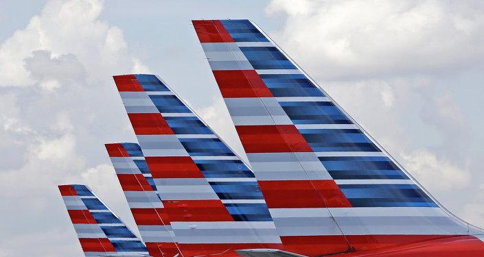 Aviones de American Airlines