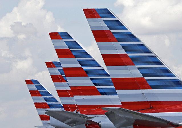 Aviones de American Airlines (imagen referencial)