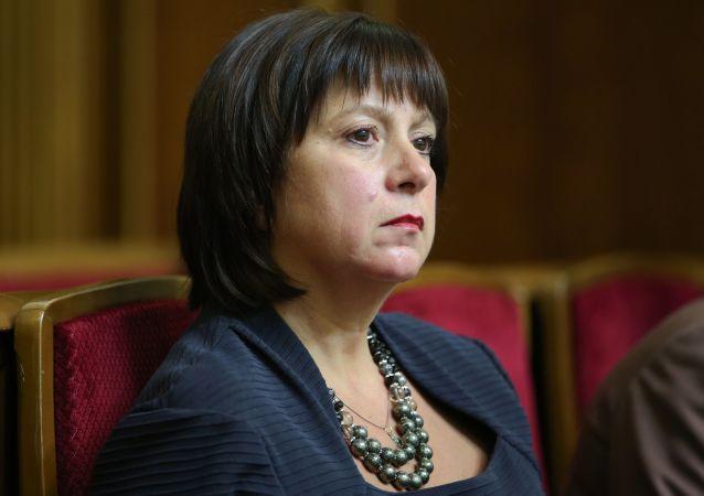 Natalia Yaresko, ministra de Finanzas de Ucrania