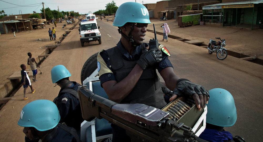 Soldados de la Minusma (Misión Multidimensional Integrada de Estabilización de las Naciones Unidas) en Malí