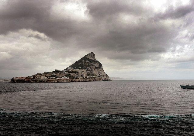 Destructor de la Marina Real Británica cerca de Gibraltar (Archivo)