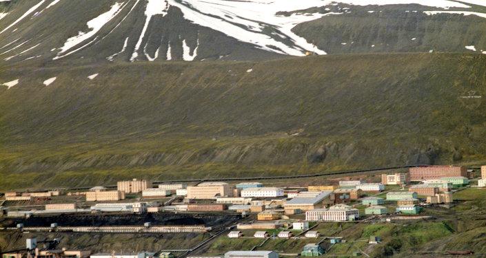 La isla de Spitsbergen (archivo)