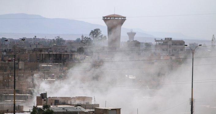 La ciudad de Hasaka, Siria (archivo)