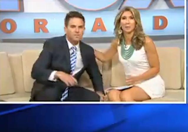 El presentador del canal estadounidense Fox 35, John Brown, se ha negado a hablar sobre la familia Kardashian