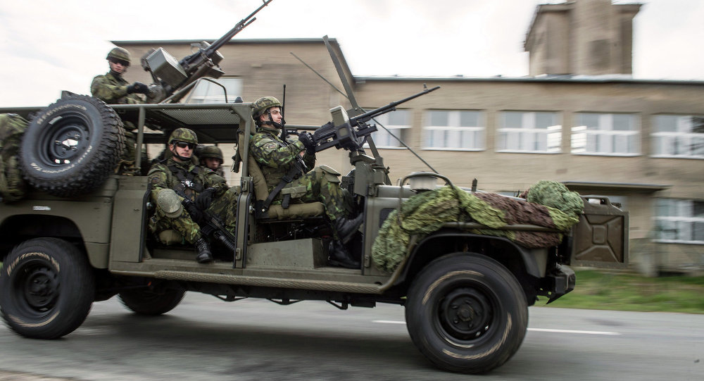 Ejercicios de la OTAN en Polonia (archivo)