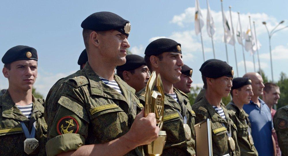 Rusia lidera los Juegos Militares Internacionales 2015
