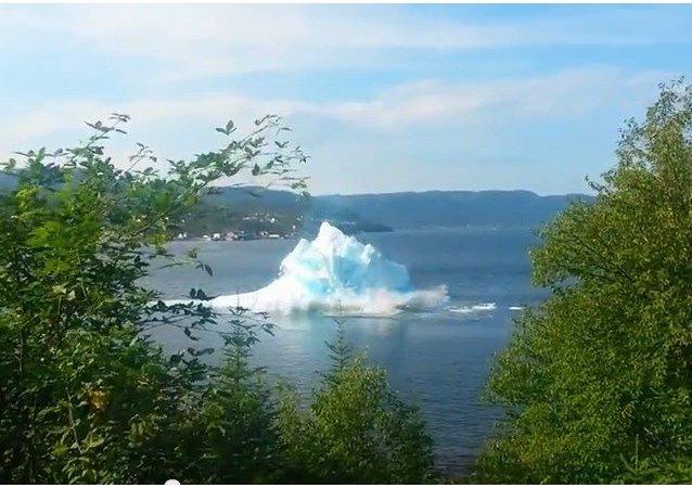 Cómo se derrite un iceberg