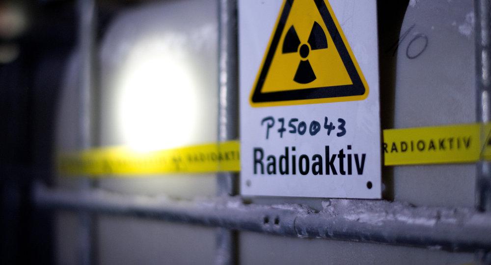Depósito de agua radioactiva en Alemania