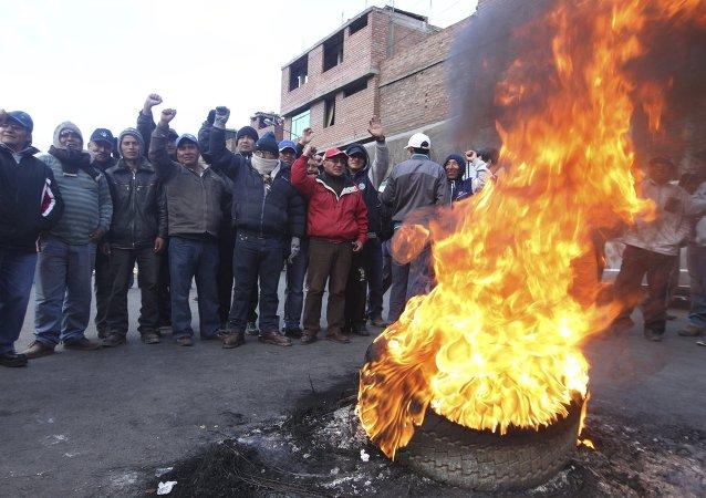 Ollanta Humala recurre al ejército para hacer frente a huelga de mineros