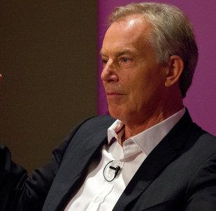 Tony Blair, ex primer ministro británico (archivo)