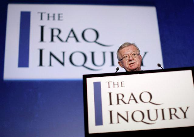John Chilcot, presidente de la investigación sobre la guerra de Irak