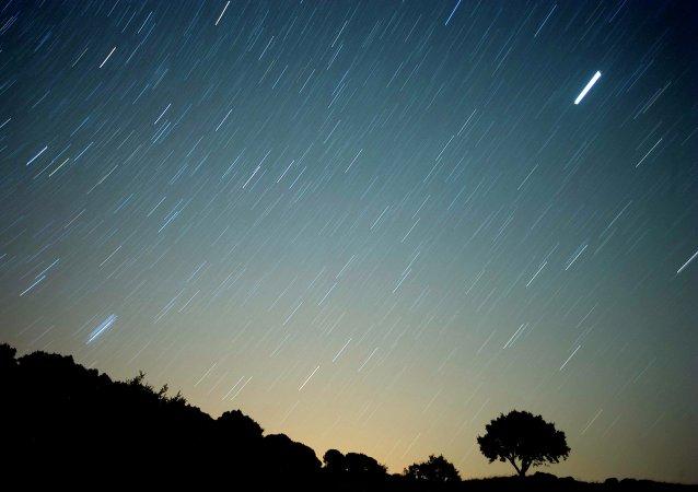 Lluvia de meteoros (archivo)