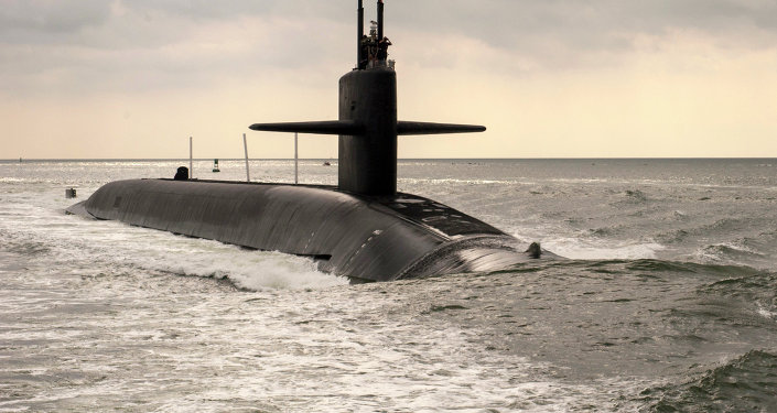 Submarino nuclear clase Ohio USS Maryland