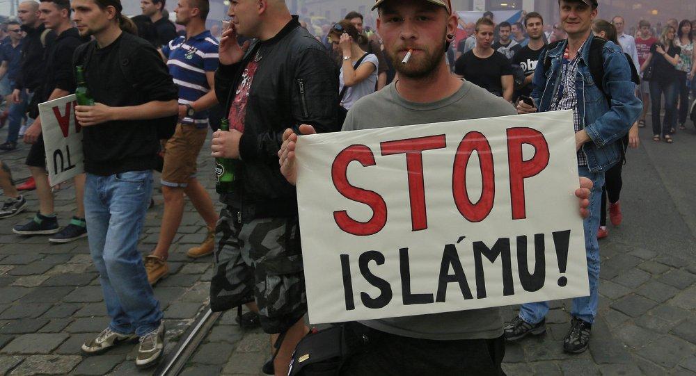 Manifestaciones antiislámicos en República Checa