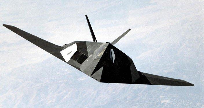 Un F-117 Nighthawk estadounidense, el primer caza en usar la tecnología 'stealth' para ocultarse de los radares enemigos