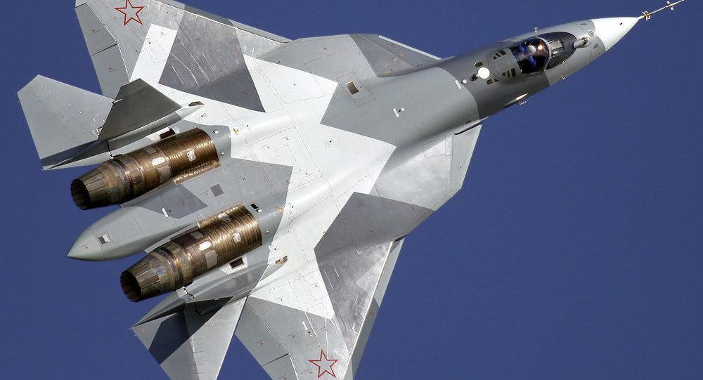 Caza de quinta generación T-50 (PAK FA)