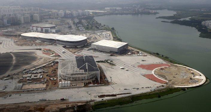 Construcción del Parque Olímpico en Río de Janeiro