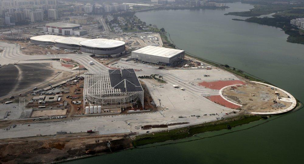 Contrucción del parque olímpico en Río de Janeiro