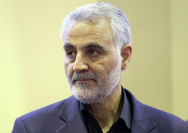 Qasem Soleimani, general de división iraní (archivo)