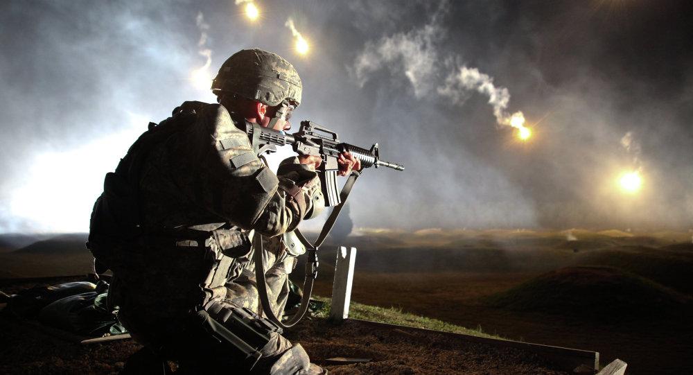 Soldado de Fuerzas Armadas de EEUU