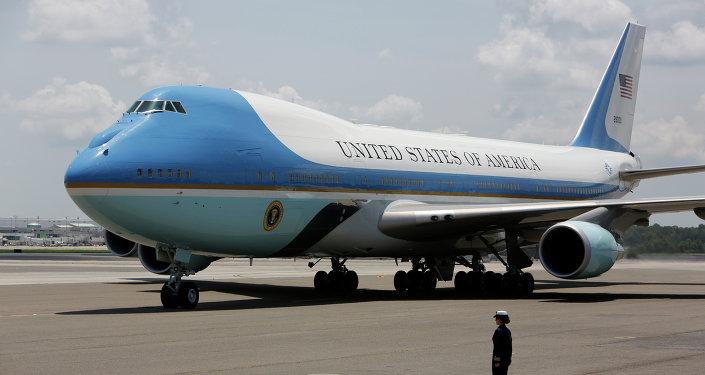 Un avión presidencial de Air Force One