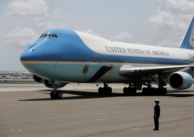 'Air Force One', el avión presidencial de EEUU (archivo)