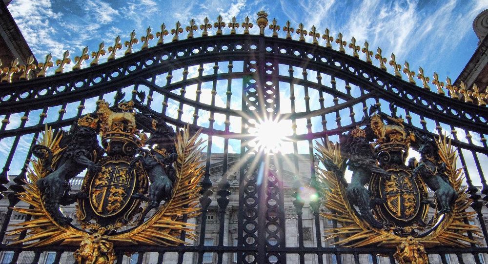 Las puertas del Palacio de Buckingham