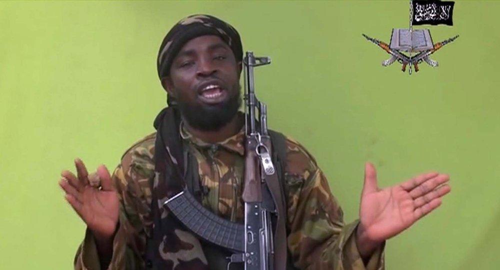 Abubakar Shekau, líder del Boko Haram