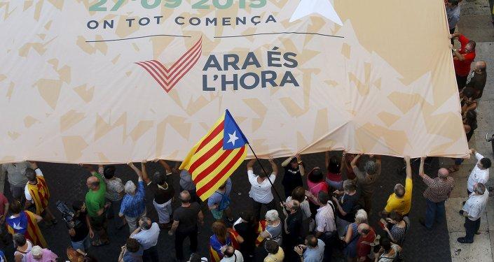 La 'Via Lliure' para la independencia catalana supera los 140.000 inscritos