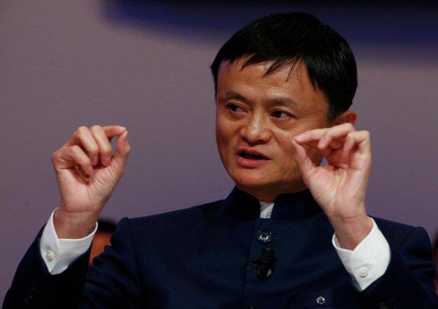 Jack Ma, fundador del consorcio chino Alibaba Group (archivo)
