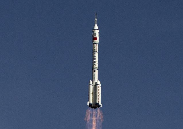 Lanzamiento del cohete Larga Marcha (Archivo)